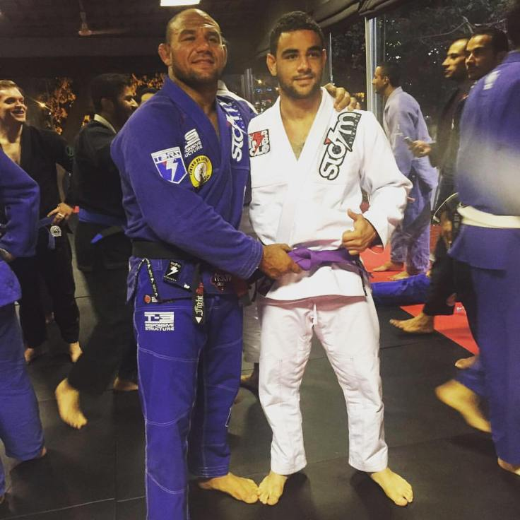 Zizo Promotion to Purple Belt